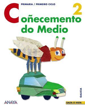 SALTA Á VISTA, COÑECEMENTO DO MEDIO, 2 EDUCACIÓN PRIMARIA (GALICIA)