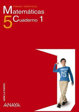CUADERNO MATEMÁTICAS 5-1 TRIM -ABRE LA PUERTA-