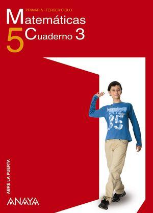 CUADERNO MATEMATICAS 5-3 TRIM -ABRE LA PUERTA-