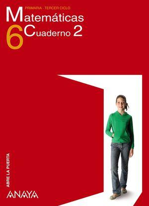 CUADERNO MATEMATICAS 6-2 TRIM APRE PUERTA)