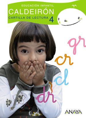 CARTILLA DE LECTURA 4 CALDEIRON