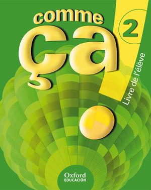 (08).COMME CA! 2O.ESO ALUMNO (+CD) FRANCES