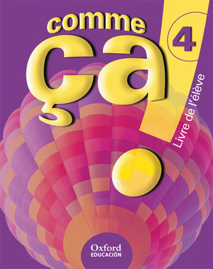 (09).COMME CA! 4O.ESO (ALUMNO+CD) FRANCES