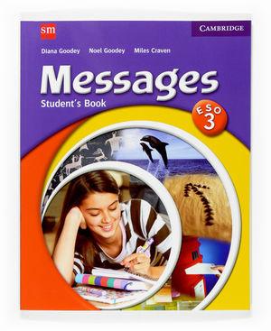(07).INGLES MESSAGES 3O.ESO (STUDENT'S).EDICION ES