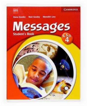 (07).INGLES MESSAGES 4O.ESO (STUDENT'S).EDICION ES