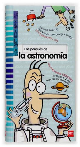 PORQUES DE LA ASTRONOMIA. SM