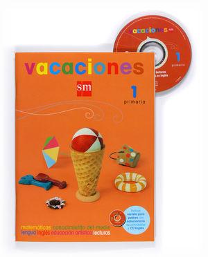 VACACIONES 1 PRIMARIA ACTIVIDADES