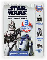 STAR WARS CLONE WARS 3 MAQUETAS GALACTICAS
