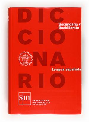 DICCIONARIO LENGUA ESPAÑOLA. SECUNDARIA Y BACHILLERATO