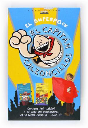 EL SUPERPACK CAPITÁN CALZONCILLOS: LAS AVENTURAS DEL CAPITÁN CALZONCILLOS + SUPE