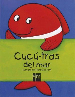 CUCÚ - TRAS DE ANIMALES DEL MAR - LIBRO CON SOLAPAS