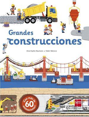 GRANDES CONSTRUCCIONES - LIBRO DE PIEZAS MOVILES Y SOLAPAS