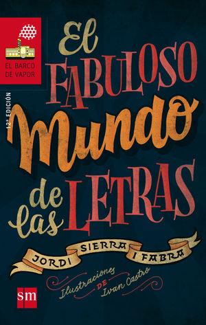 186 ROJA BARCO VAPOR EL FABULOSO MUNDO DE LAS LETRAS