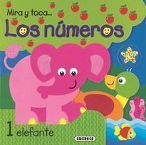 LOS NÚMEROS - MIRA Y TOCA - LIBRO DE TACTO