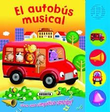 AUTOBUS MUSICAL, EL CON BOTONES RUIDOSOS