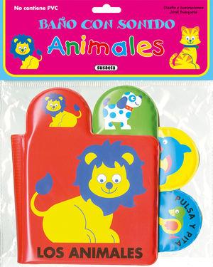 ANIMALES - LIBRO DE BAÑO