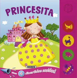 PRINCESITA -  BOTONES RUIDOSOS - LIBRO DE SONIDOS