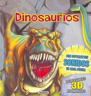 DINOSAURIOS DESPLEGABLES 3D ASOMBROSOS CON SONIDOS