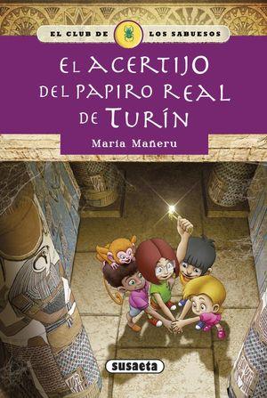 EL ACERTIJO DEL PAPIRO REAL DE TURÍN - EL CLUB DE LOS SABUESOS