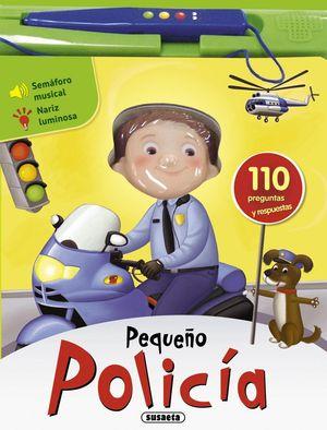 PEQUEÑO POLICÍA - PEQUEÑOS APRENDICES -LIBRO DE SONIDOS
