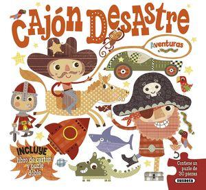 CAJON DESASTRE AVENTURAS (CON PUZZLE DE 30 PIEZAS)