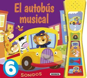 EL AUTOBÚS MUSICAL - PULSA Y ESCUCHA - LIBRO DE SONIDOS