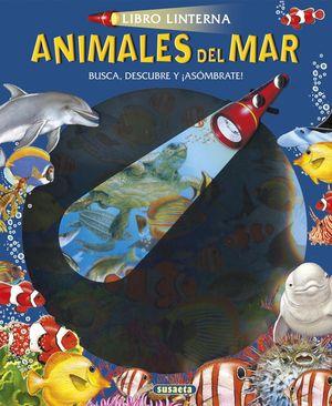 ANIMALES DEL MAR LIBRO LINTERNA