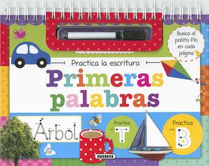 PRIMERAS PALABRAS PRACTICA LA ESCRITURA - LIBRO PIZARRA