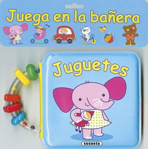 JUGUETES JUEGA EN LA BAÑERA - LIBRO BAÑO