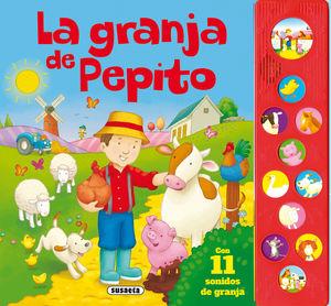 LA GRANJA DE PEPITO - LIBRO DE SONIDOS