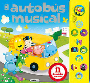 EL AUTOBÚS MUSICAL - LIBRO DE SONIDOS
