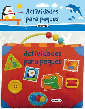 ACTIVIDADES PARA PEQUES - LIBRO DE TELA