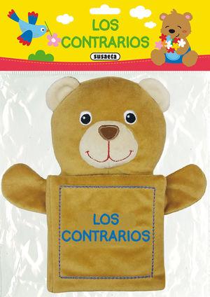 LOS CONTRARIOS PELUCHE TE ENSEÑA - LIBRO DE TELA