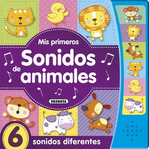MIS PRIMEROS SONIDOS DE ANIMALES - LIBRO DE SONIDOS