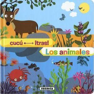 LOS ANIMALES - CUCU TRAS - LIBRO PIEZAS MOVILES