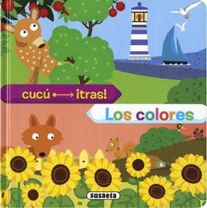 LOS COLORES - CUCU TRAS - LIBRO PIEZAS MOVILES