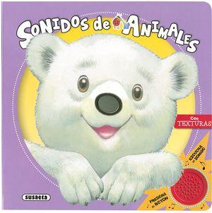 SONIDOS DE ANIMALES - LIBRO DE TACTO Y SONIDOS