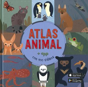 ATLAS ANIMAL + APP CON 100 VIDEOS