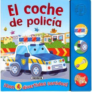 EL COCHE DE POLICÍA - LIBRO DE SONIDOS
