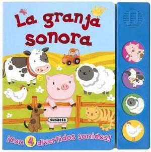 LA GRANJA SONORA - LIBRO DE SONIDOS