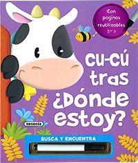CU-CÚ TRAS ¿DONDE ESTOY? - LIBRO PIZARRA
