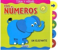LOS  NUMEROS - TIRA Y VERAS - LIBRO PIEZAS MOVILES