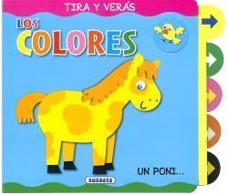 LOS COLORES - TIRA Y VERAS - LIBRO PIEZAS MOVILES