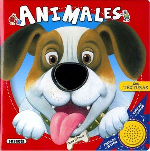 ANIMALES - LIBRO DE TACTO Y SONIDOS