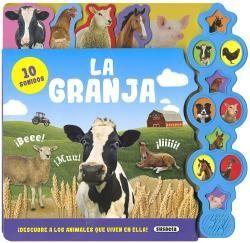 LA GRANJA - 10 SONIDOS - LIBRO DE SONIDOS