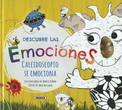 DESCUBRE LAS EMOCIONES - LIBRO DE EMOCIONES