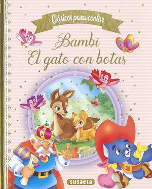 BAMBI ; EL GATO CON BOTAS