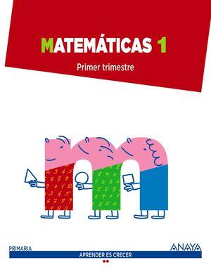 MATEMATICAS 1 PRIMARIA