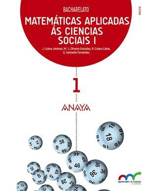 MATEMATICAS 1 BACHARELATO APLICADAS AS CIENCIAS SOCIAIS