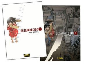 PACK DESAPARECIDO 1 2